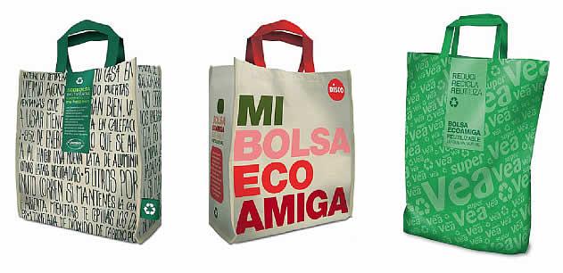 importancia del reciclaje de bolsas para el supermercado