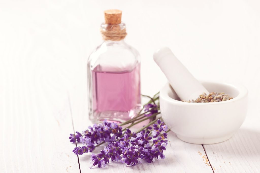Pensamiento positivo con aromaterapia